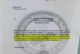 Obligan empleados Salud Pública asistir acto de Danilo Medina en Santiago