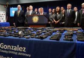 Policía Nueva York incauta 267 armas de fuego en Brooklyn