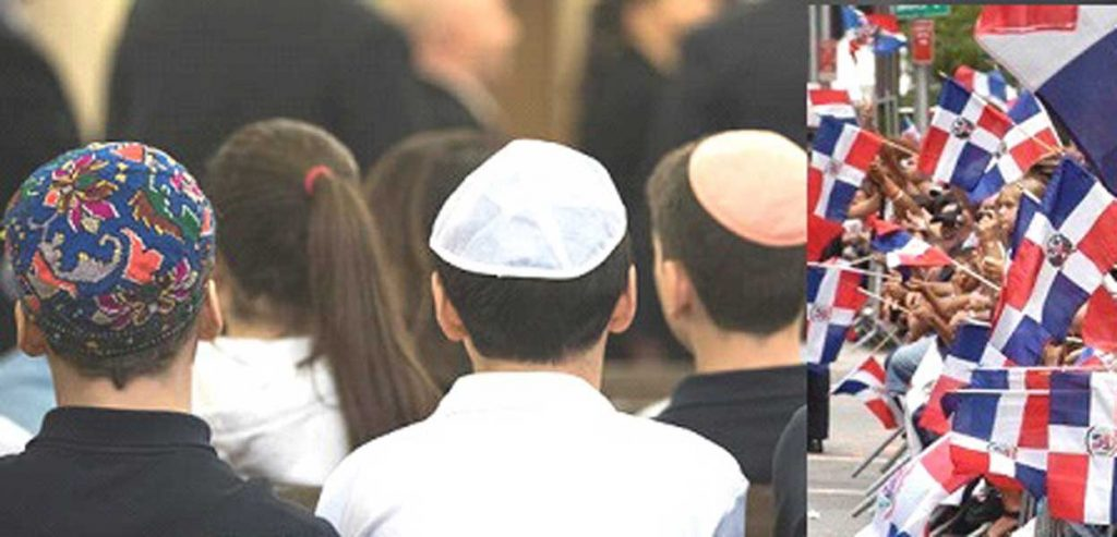 Dominicanos Alto Manhattan residen en comunidad judía muestran preocupación
