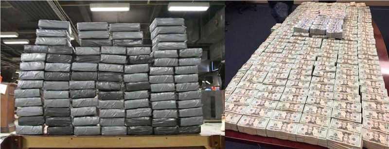 Confiscan US$4 millones a dominicanos traficantes de heroína en el Bronx