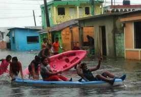 Lluvias provocan inundaciones en Puerto Plata este miércoles