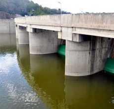Presas en condiciones para recibir grandes volúmenes agua