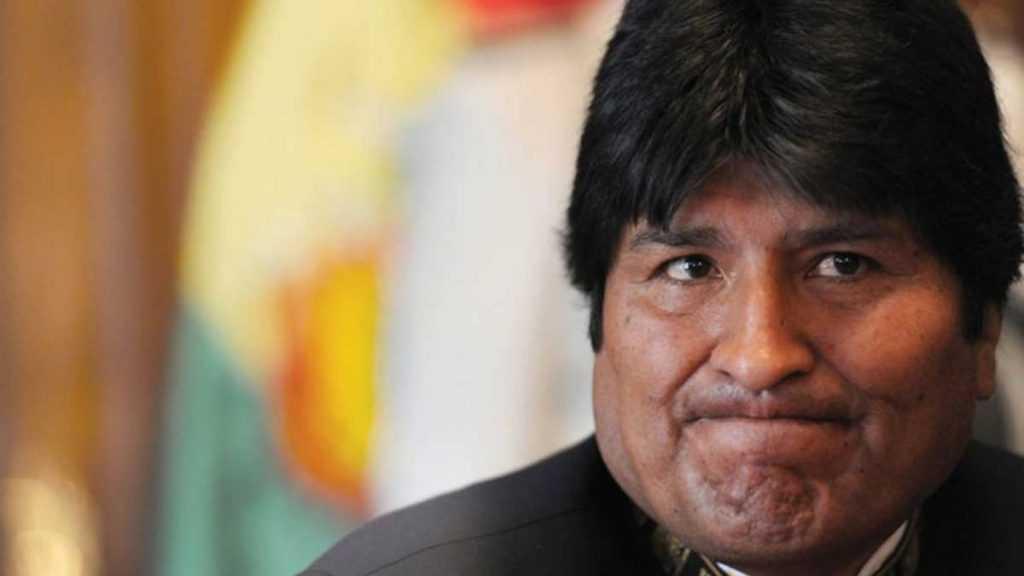El presidente Evo Morales con problemas de salud