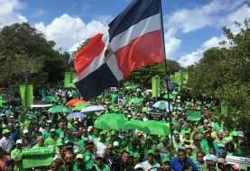 Cientos marchan contra la impunidad y la corrupción en Puerto Plata