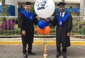 Tres condenados se gradúan de abogados en UAPA