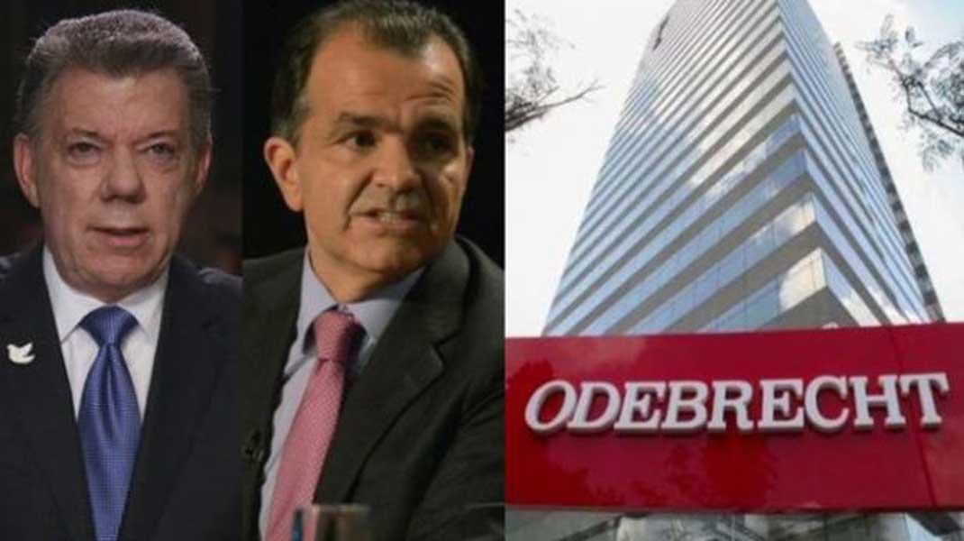 Santos y Zuluaga habrían recibido contribuciones de Odebrecht