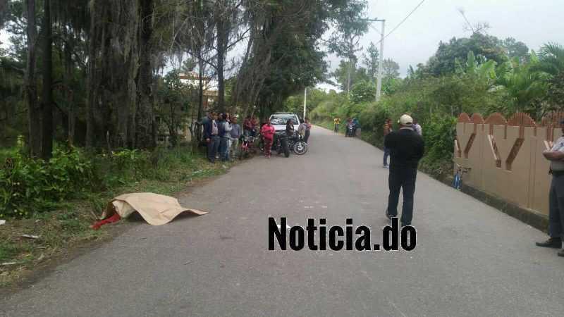 Un muerto tiroteo en Guazuma de San José de Las Matas