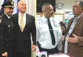 Policía dominicano es ascendido a coronel en Nueva York