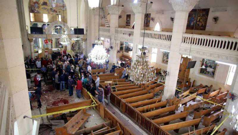 Egipto: Dos explosiones dejan al menos 43 muertos al inicio de Semana Santa