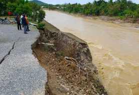 Lluvias | Cierran provisionalmente entrada a San Cristóbal por autopista 6 de Noviembre
