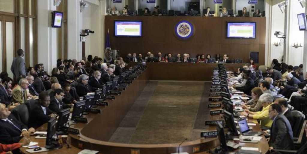 """OEA aprueba """"por consenso"""" resolución sobre Venezuela"""