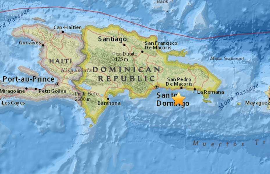 Ultimas noticias República Dominicana   Sismo de 4.5 grados afecta La Romana