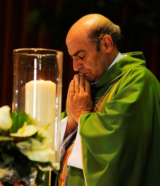 Arzobispado confirma muerte de monseñor Amancio Escapa