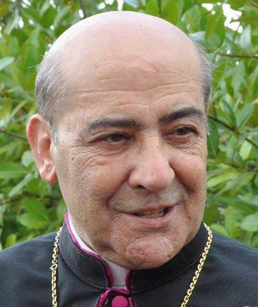 Monseñor Amancio Escapa en estado grave