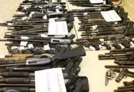 Al menos 80 personas por violación ley armas