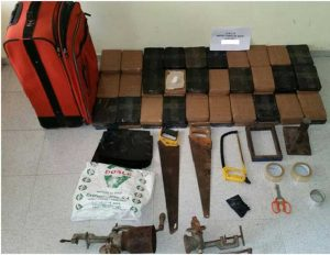 Azua: Ocupan 92 paquetes de cocaína
