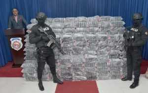 DNCD se ocupa de más de 1,000 paquetes de cocaína en El Seibo