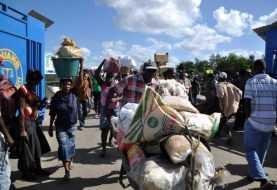 Vuelven a impedir ingreso productos hacia Haití