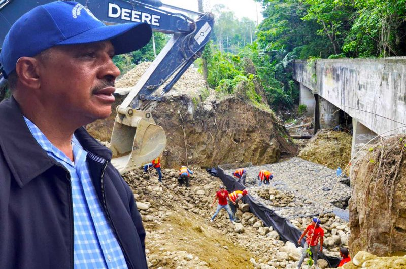 Director del INDRHI, Olgo Fernández dice canal Monsieur Bogaert será terminado en 15 días