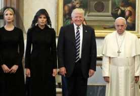 Trump y el papa Francisco se reúnen en el Vaticano