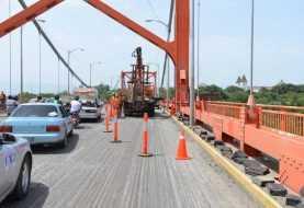 Trabajos en puente Hermanos Patiño se prologarán por espacio de cinco meses