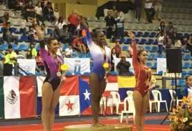 La gimnasta Yamilet Peña gana oro festival Guatemala