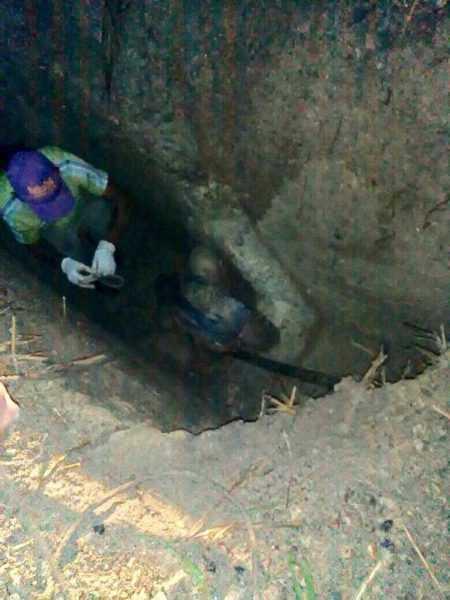 PN investiga hallazgo cadáveres de 2 hombres en una fosa común en El Seibo