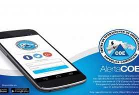 El COE presenta aplicación telefónica para difundir alertas meteorológicas