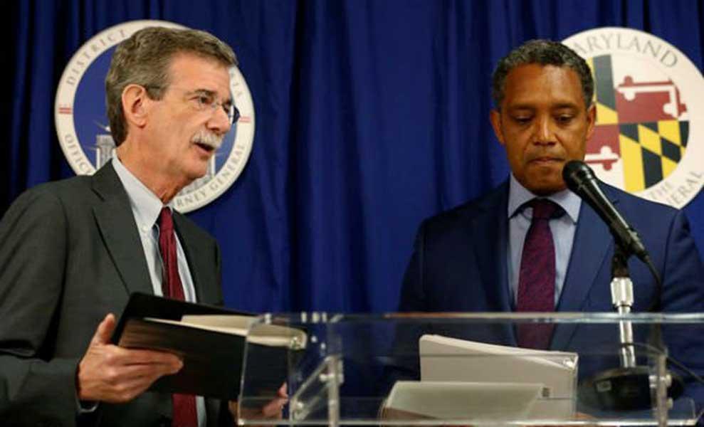 Fiscales de Maryland y DC demandan a Trump por conflicto de intereses