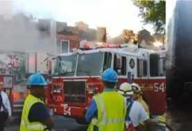 Familias dominicanas desplazadas en infernal incendio en El Bronx