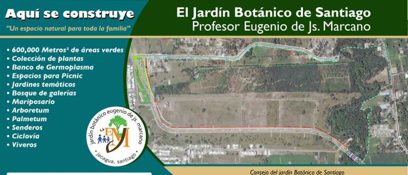 Danilo Medina crea mediante decreto el Jardín Botánico de Santiago