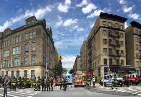 Heridos por descarrilamiento de tren en Nueva York