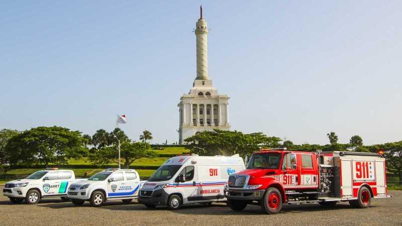 Sistema Nacional de Emergencias y Seguridad 911 llega al Cibao