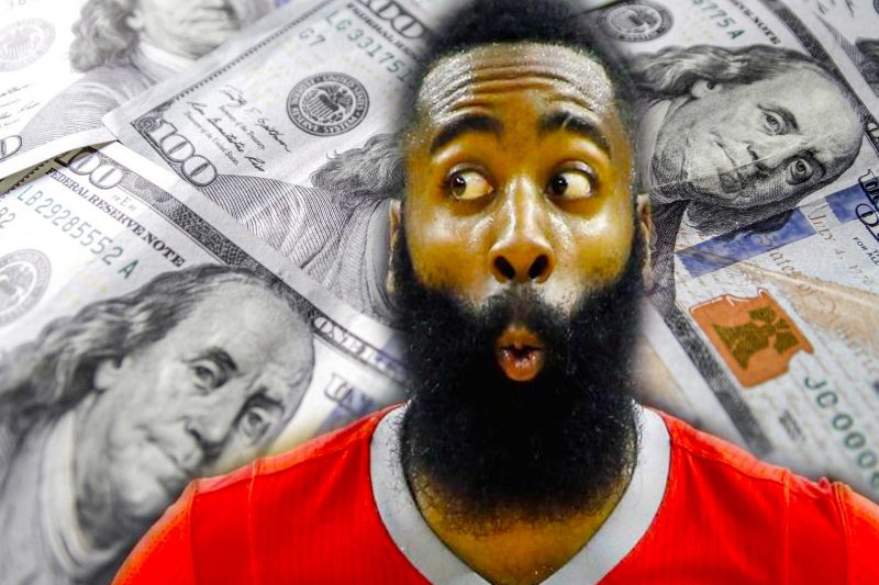 James Harden el jugador mejor pagado de la NBA