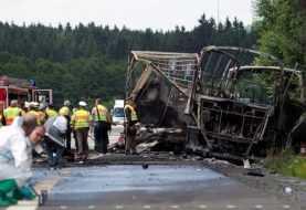 Varios muertos tras accidente de autobús en Alemania