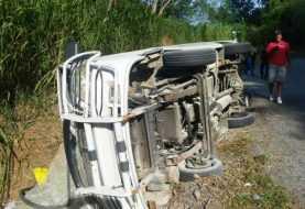 Cuatro muertos y seis heridos en accidentes de tránsito