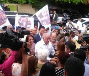 Andrés Bautista sale de la cárcel de Najayo hombres