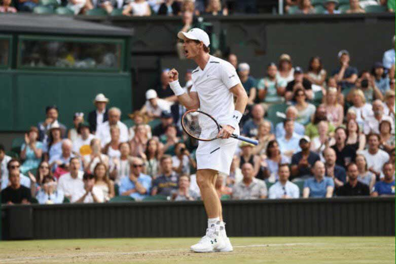 Lucha cerrada entre Rafael Nadal  y Andy Murray