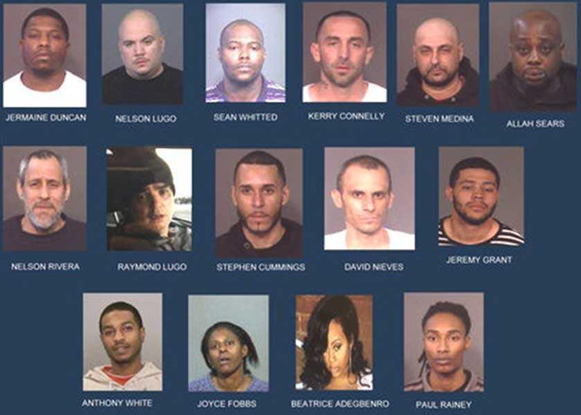 Arrestan 15 personas por drogas en, Nueva York, entre ellos hispanos