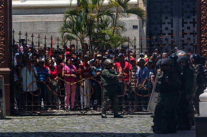 Venezuela: Violencia llega a la Asamblea Nacional