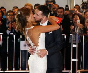 Lionel Messi se casa en Argentina rodeado de estrellas del fútbol