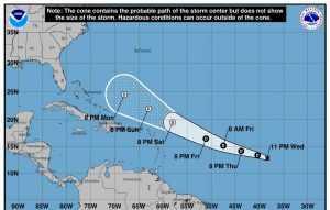 Se forma la depresión número 4 en el Atlántico