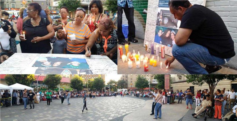 Dominicanos honran dominicana, Miosotis Familia, en Alto Manhattan