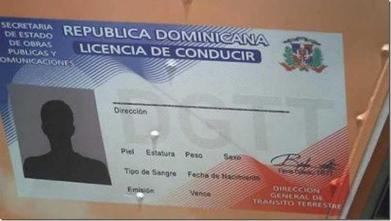 licencia de conducir