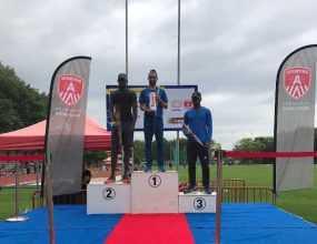 Luguelin Santos gana oro en Bélgica