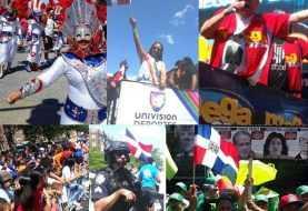 Miles asisten Parada Dominicana del Bronx, Nueva York