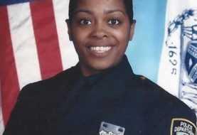 Policía dominicana asesinada en El Bronx recibe medalla de honor póstuma