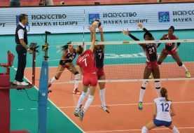 Caen Reinas del Caribe caen ante Rusia