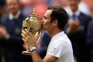 Roger Federer gana octavo título de Wimbledon