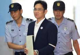 Heredero de Samsung condenado a 5 años de cárcel